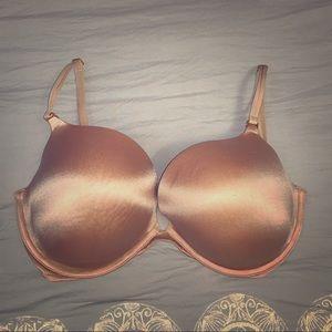 Victoria's Secret Very Sexy Nude Bra - Size 38DD
